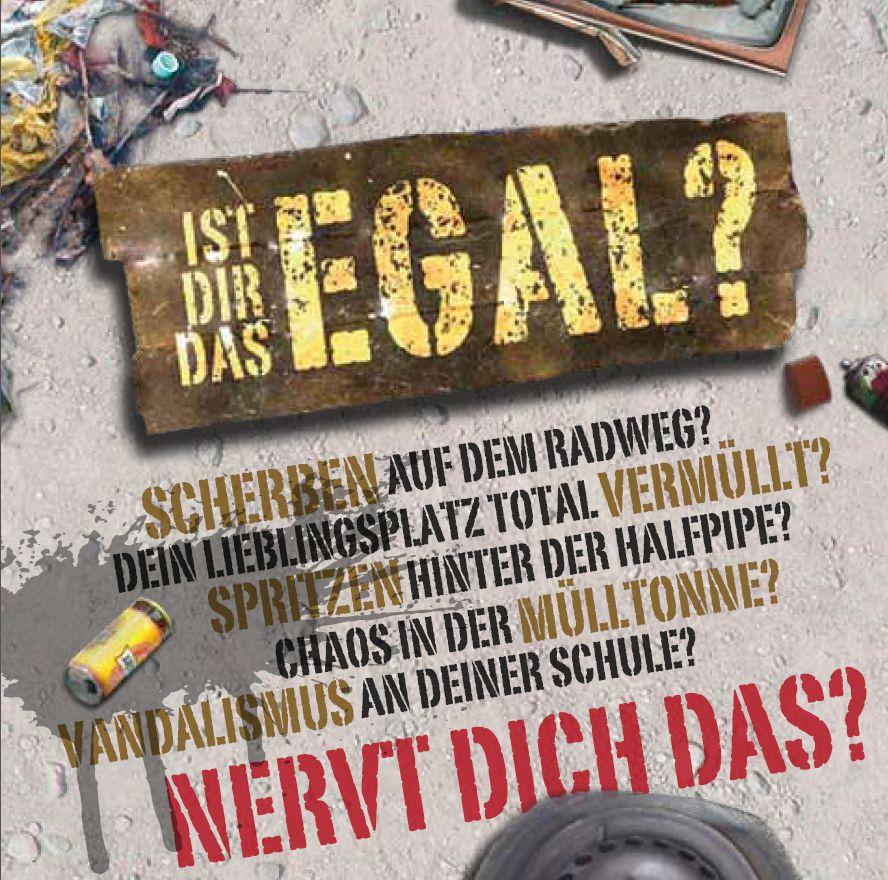 Hier kannst du mitmachen: Weiterleitung zu www.istdirdasegal.de